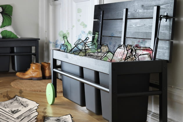 Banc pour tri Användbar d'IKEA