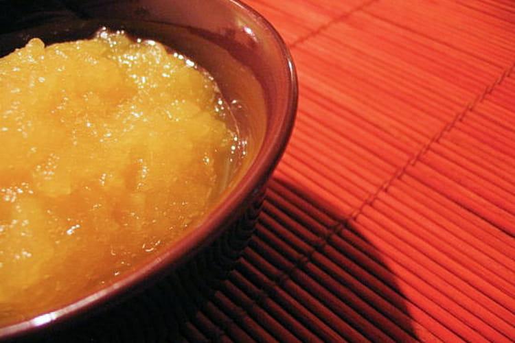 Compote pomme-orange