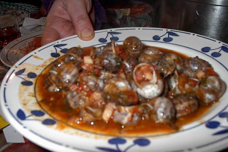 Escargots à la bordelaise