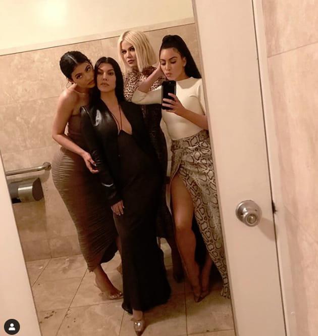 La Famille Kardashian Presque Au Complet-8600