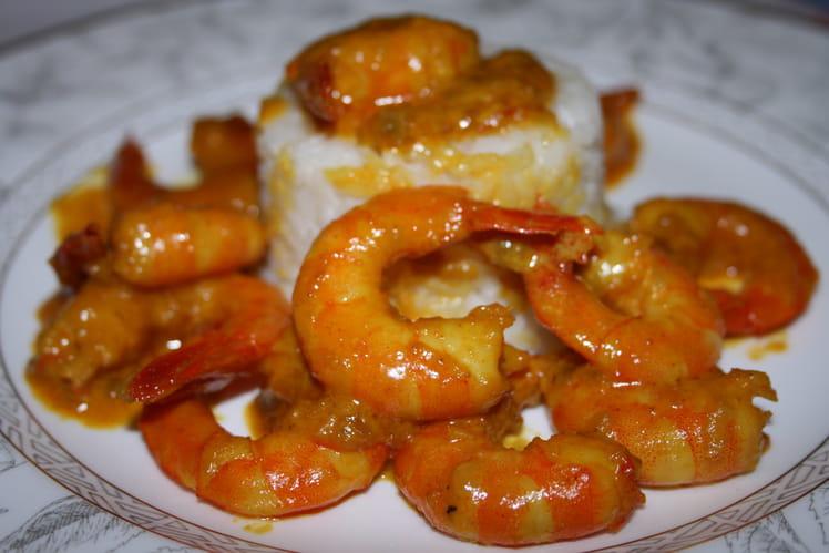 Crevettes endimanchées