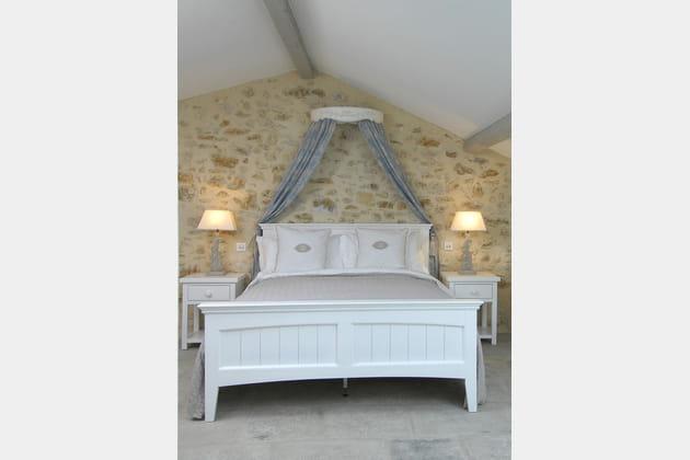 Ciel de lit apaisant
