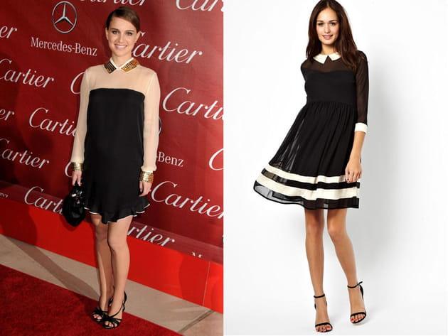 Natalie Portman: une petite robe chic