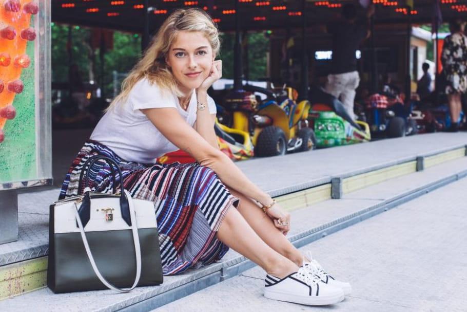 Le look blogueuse de la semaine : Victoria Monfort de retour en enfance