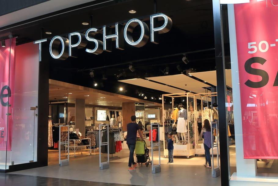Comment faire les soldes chez Topshop?