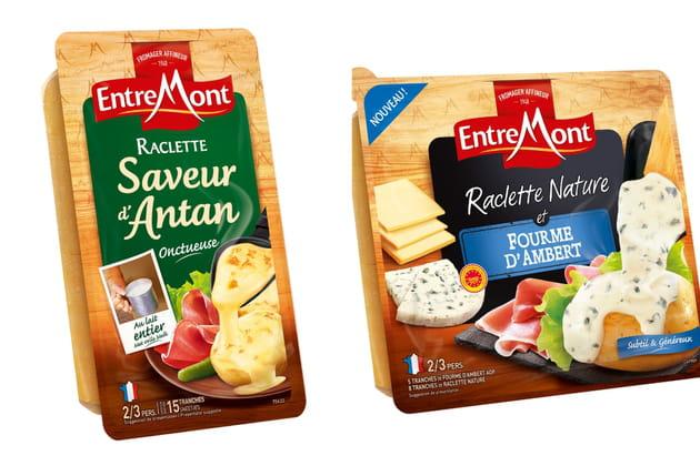 Les fromages à raclette d'Entremont