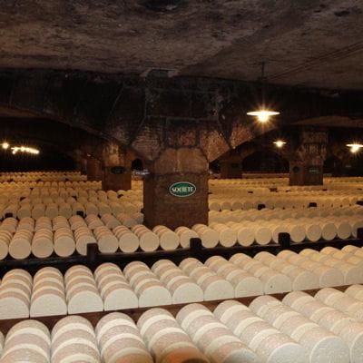 L'affinage des fromages en travée