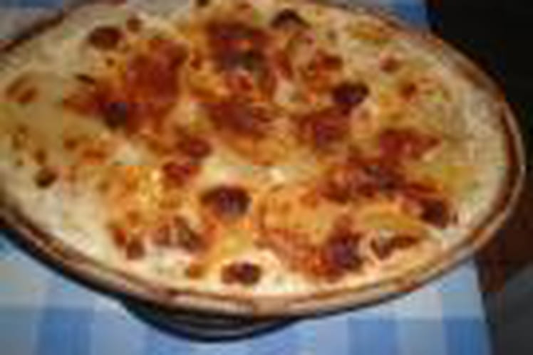 Gratin dauphinois au fromage