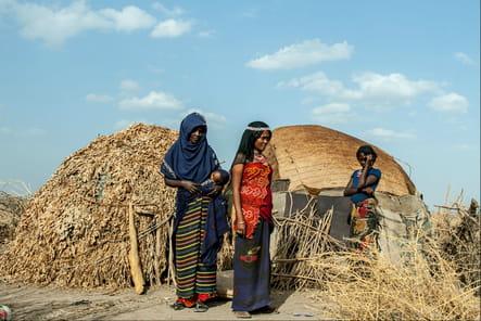 Dans un camp de la région Afar