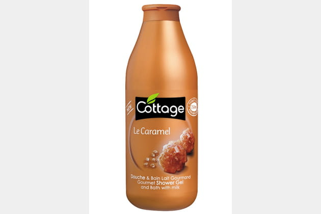 Douche et bain lait gourmand Caramel Cottage