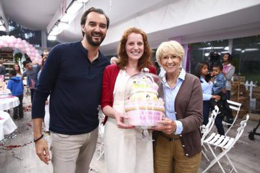 Anne-Sophie remporte Le Meilleur Pâtissier
