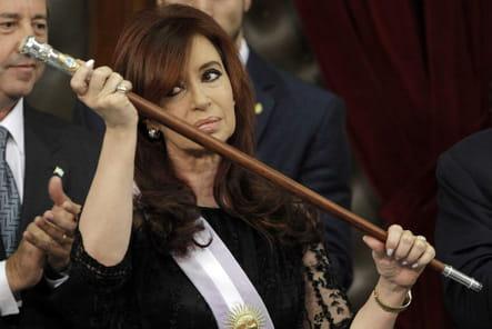 Cristina Fernandez de Kirchner, veuve en or