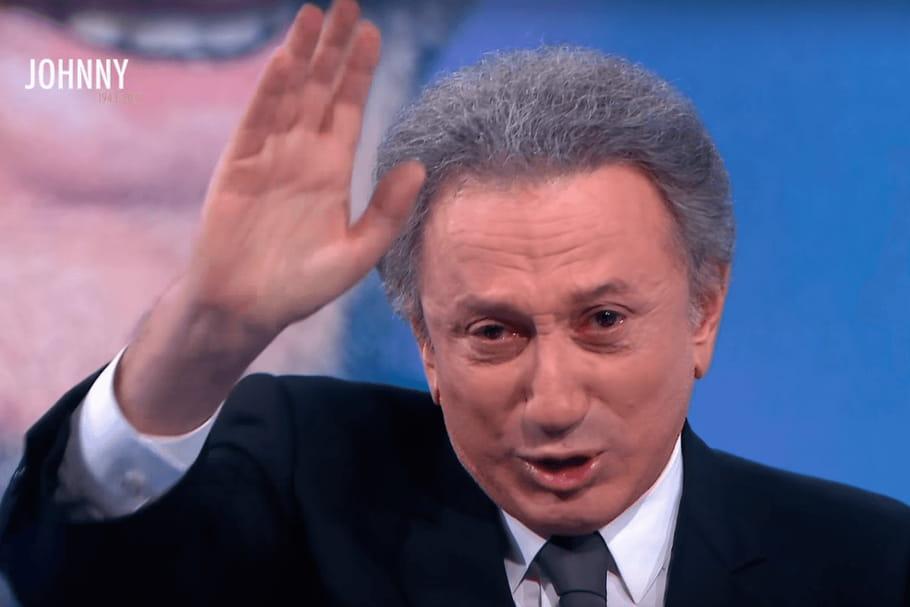 Michel Drucker en larmes: son adieu à Johnny Hallyday