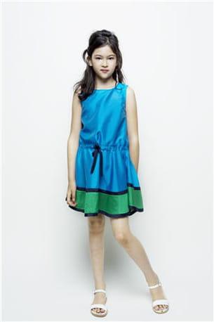 robe bleue kenzo kids