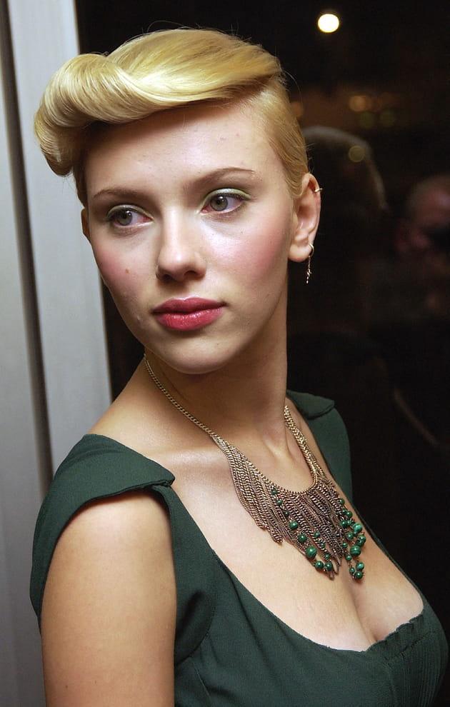 La mèche rehaussée de Scarlett Johansson