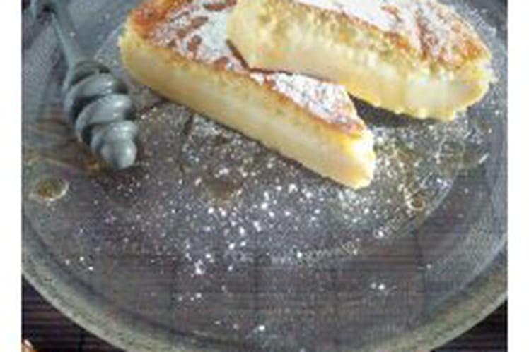 Gâteau magique au miel