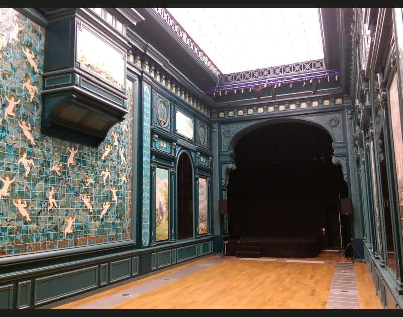 L'ancienne salle des castings