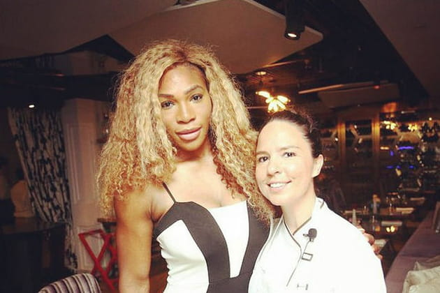 Anne-Cécile Degenne, sa rencontre avec Serena Williams