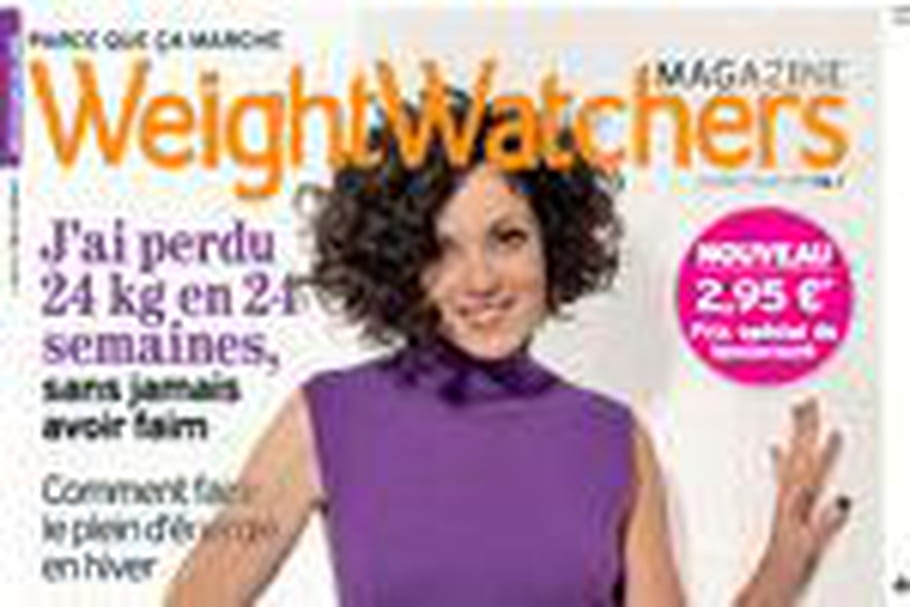 Le nouveau magazine Weight Watchers en kiosque