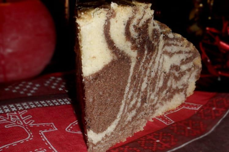 Recette de Gâteau marbré italien : la recette facile