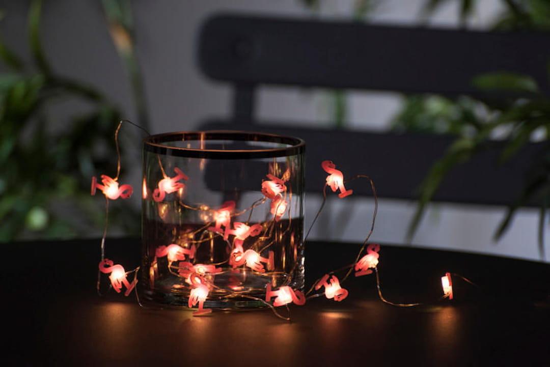 Pour ou contre l 39 imprim flamingo - Casa guirlande lumineuse ...