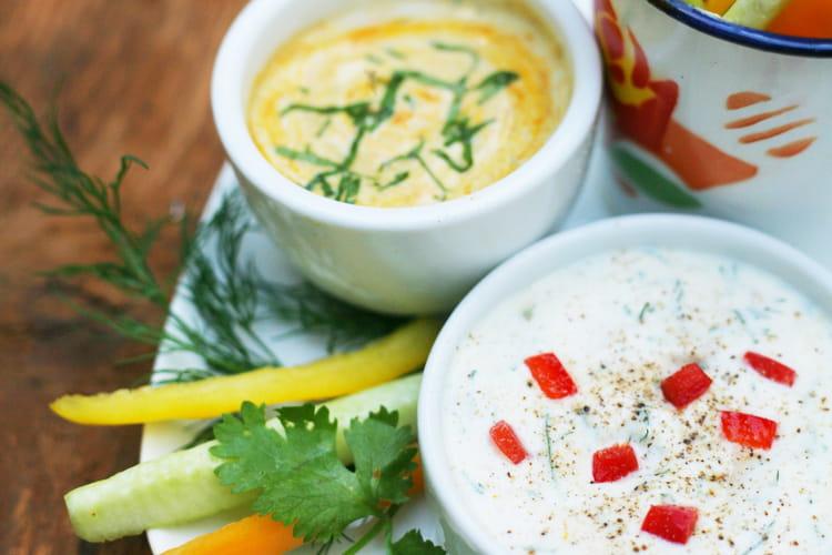 Sauces végétales indienne et suédoise