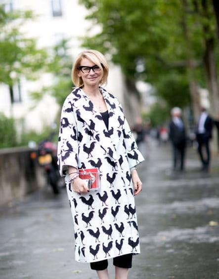 Street looks fashion week haute couture : emblématique