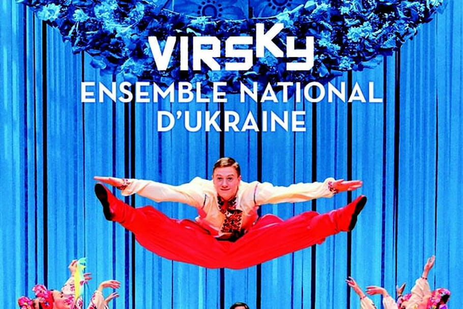 "VIRSKY, ensemble national d'Ukraine : ""Ici, on danse avec le cœur"""