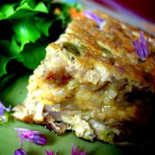 omelette au riz