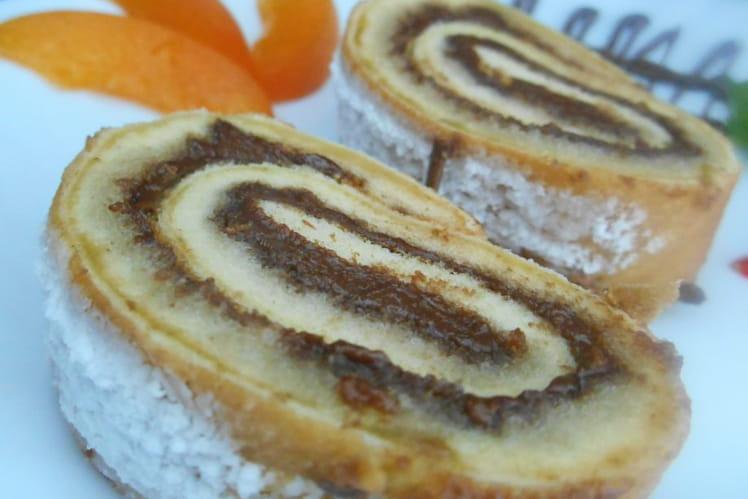 Gâteau roulé au Nutella®
