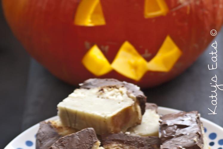Croquants d'halloween au chocolat
