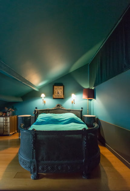 Chambre 100% turquoise