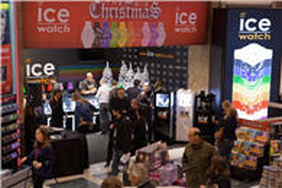 Ice Watch: un pop up store sur les Champs-Elysées