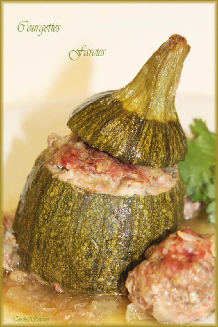 Recette de courgette ronde farcie la recette facile - Cuisiner courgettes rondes ...