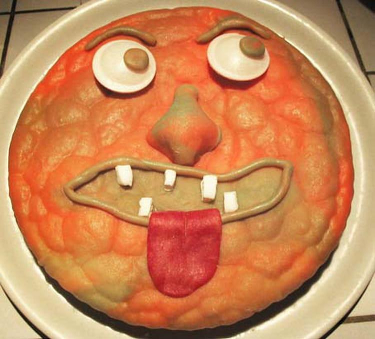 Recette de g teau t te de monstre la recette facile - Recette halloween horrible ...