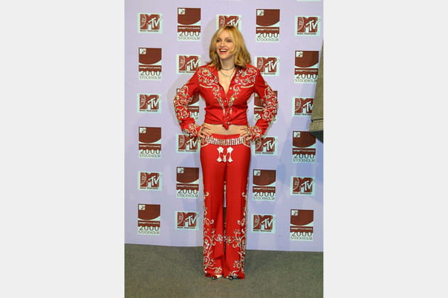 Madonna le 16novembre 2000