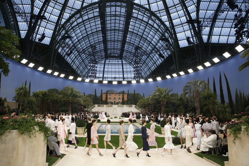 Acara panungtung Karl Lagerfeld: Chanel relive imah couture tinggi