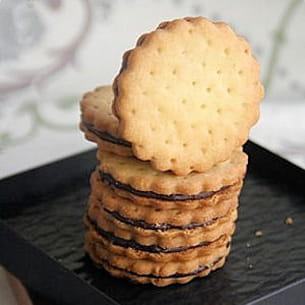biscuit chocolat façon prince lu