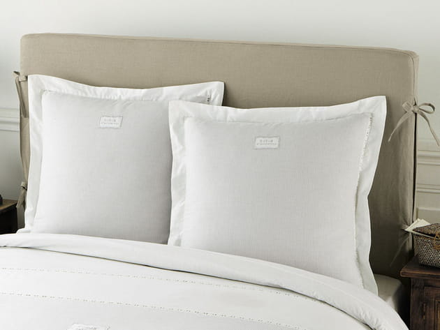 Housse de tête de lit en lin