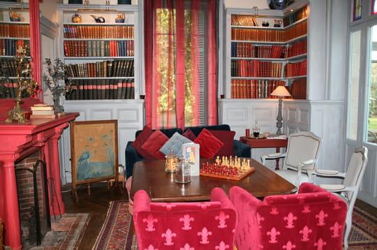 Un salon coloré