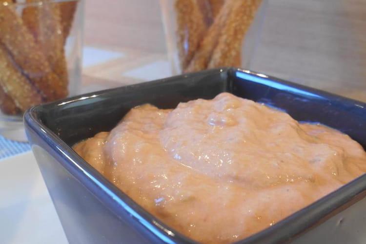 Tartinade thon à la tomate & Saint-Môret