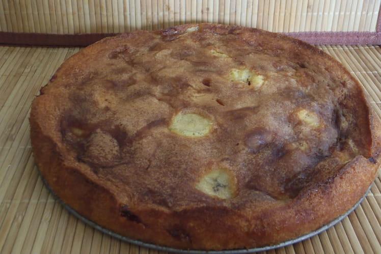 Gâteau banane fraise