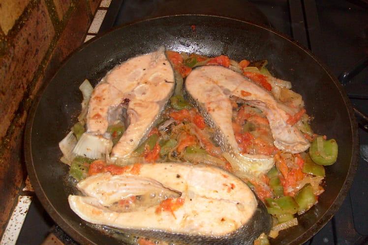 Darnes de saumon à la poêle