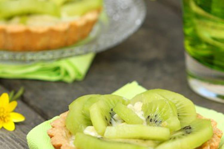 Tartelettes aux kiwis