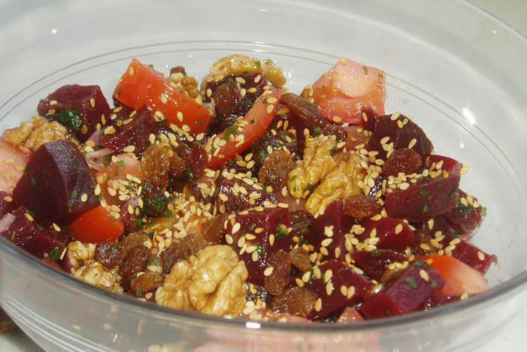 Betteraves rouges en salade