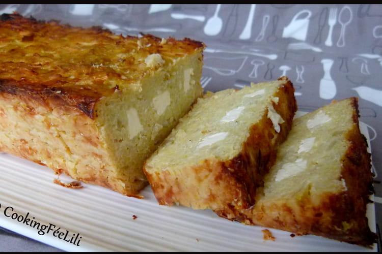 Raclette-Cake (cake aux pommes de terre râpées)
