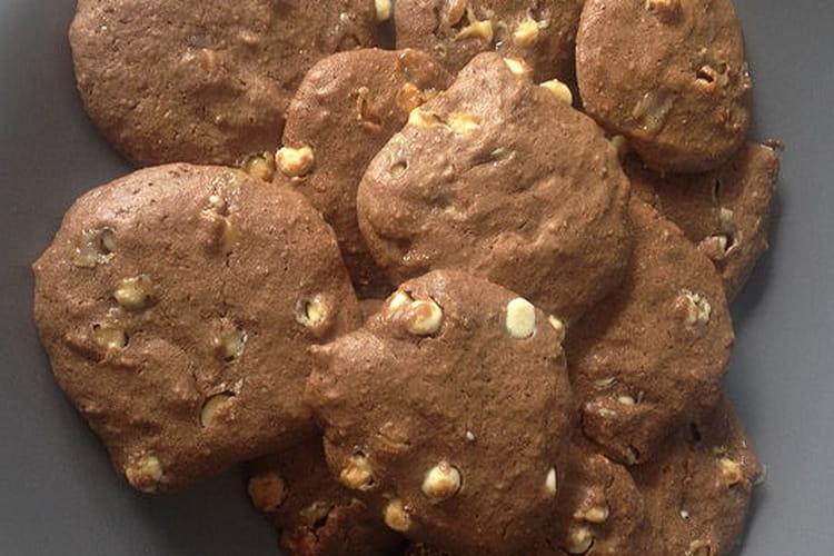 Cookies aux pépites chocolat blanc