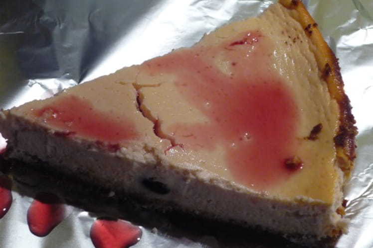 Cheesecake amaretti amarena