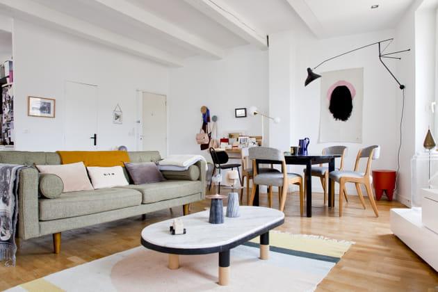 Le duplex marseillais de la designer Margaux Keller