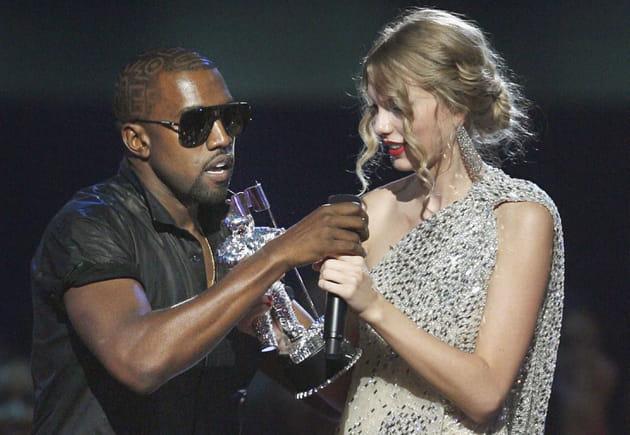 Kanye West et Taylor Swift: malaise sur scène